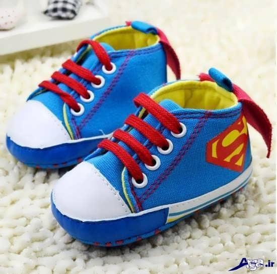 کفش های زیبا و جذاب پسرانه بچگانه