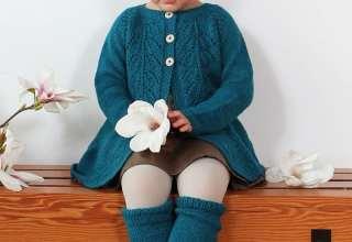 انواع مدل لباس های بافتنی بچگانه