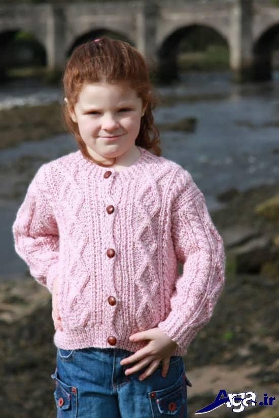 انواع مدل لباس بافتنی کودک بسیار زیبا