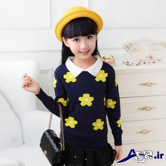 مدل لباس های بافتنی دخترانه بچگانه