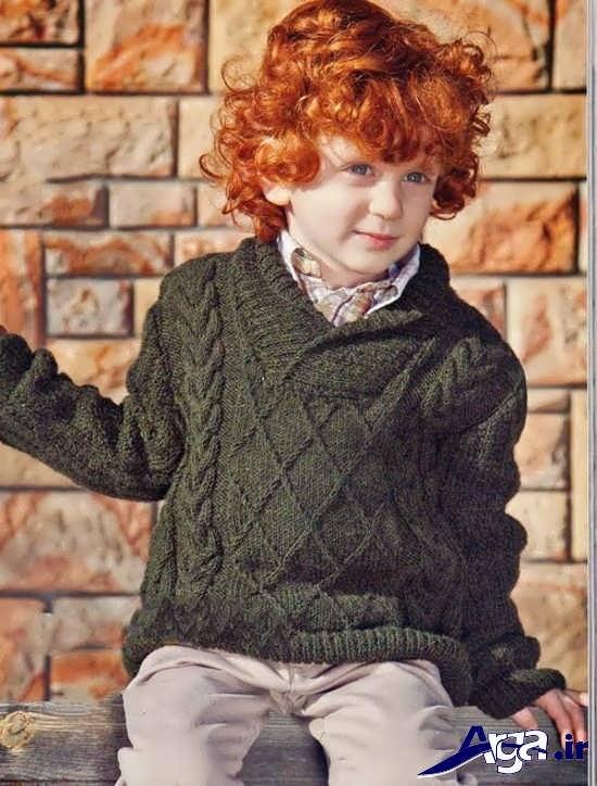 انواع مدل لباس بافتنی پسرانه بچگانه