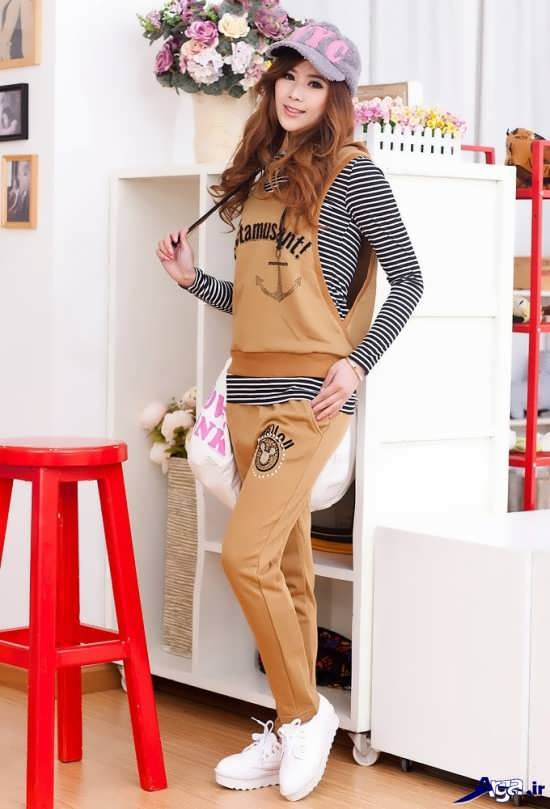 شیک ترین مدل لباس اسپرت های دخترانه