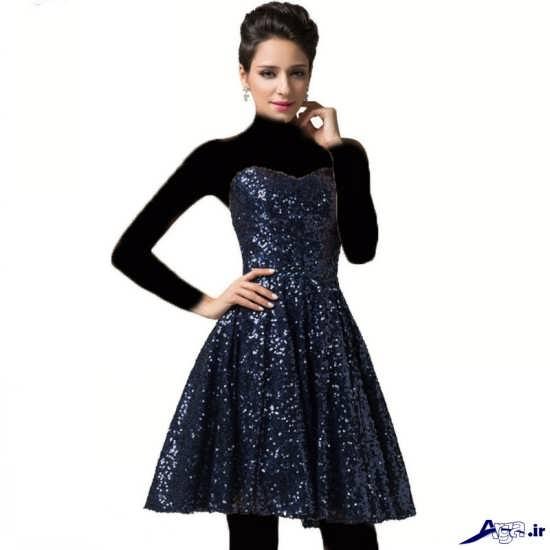 انواع مدل لباس مجلسی پولک زنانه و دخترانه ی
