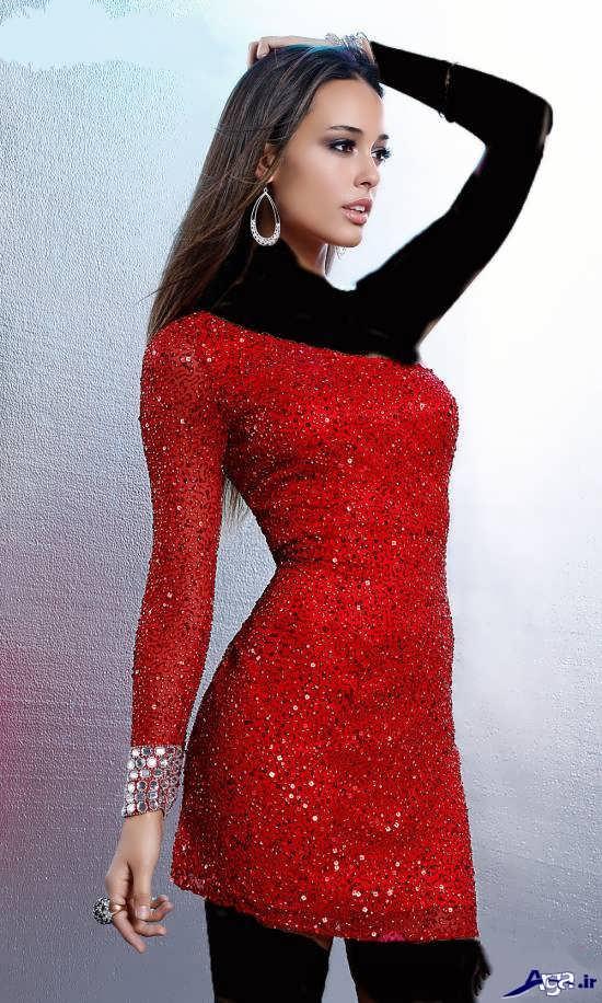 مدل لباس پولکی دخترانه