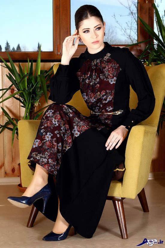 مدل لباس مجلسی پوشیده و جذاب دخترانه