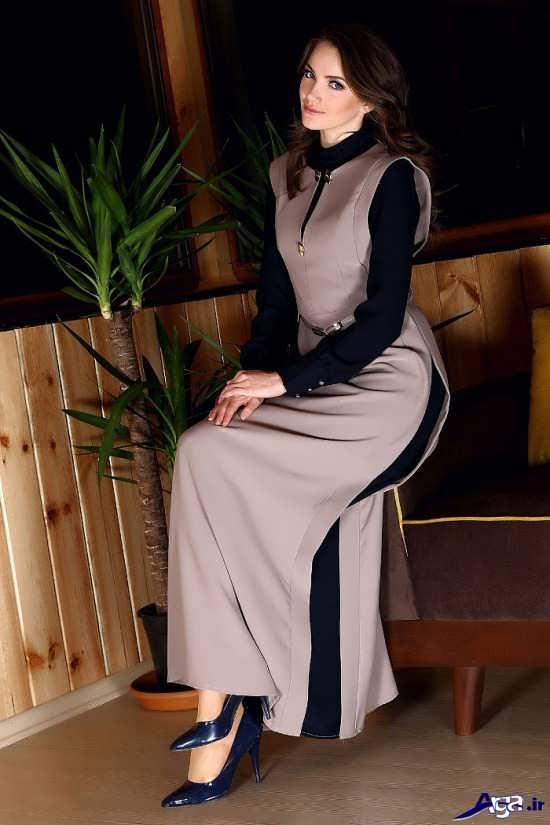 لباس مجلسی زیبا و جذاب دخترانه با حجاب