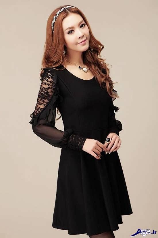مدل لباس مجلسی پوشیده دخترانه بسیار زیبا