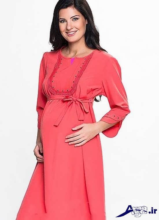 مدل مانتو بارداری مجلسی زیبا و جذاب