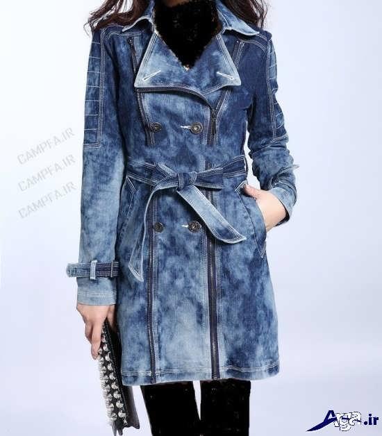مدل مانتو لی طرح دار دخترانه زیبا