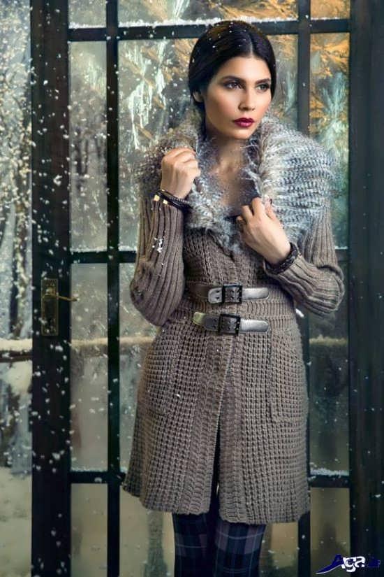 پالتوهای بافتنی زیبای زنانه و دخترانه