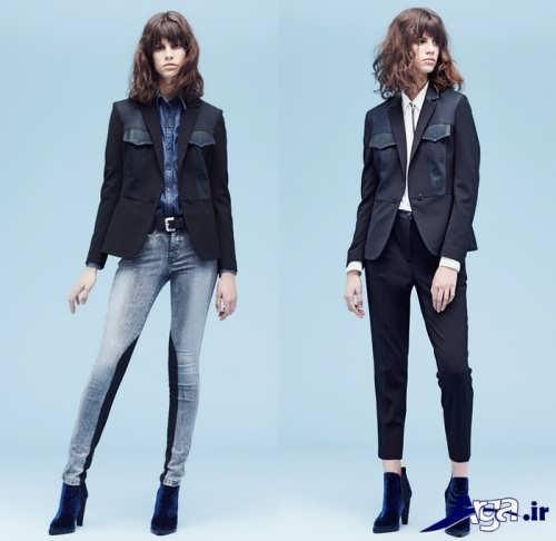 مدل شلوار کتان و لی زنانه