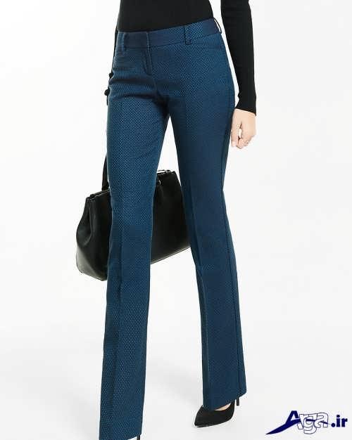 مدل شلوار زنانه با تن پوش شیک