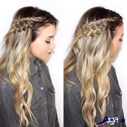 بافت موهای دخترانه