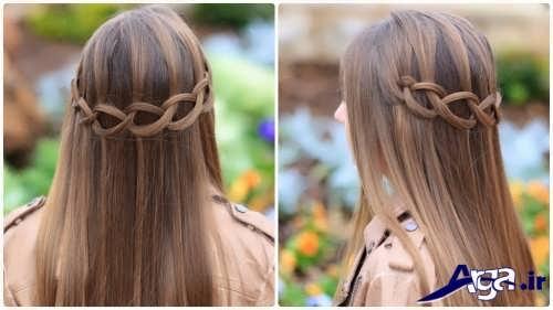 بافت مو مخصوص دختران جوان