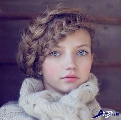 مدل بافت مو دخترانه زیبا