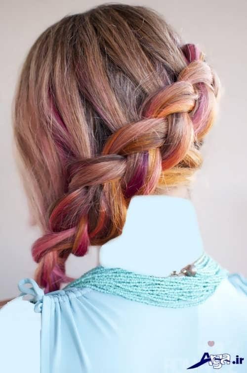 مدل بافت موی دخترانه بچه گانه