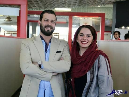 عکس های پژمان بازغی و همسرش