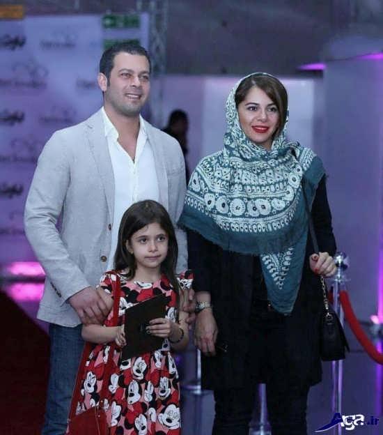 تصاویر پژمان بازغی و همسرش