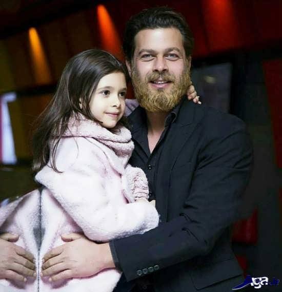 عکس های پژمان بازغی و دخترش