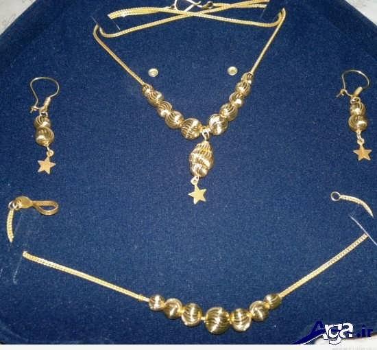 گالری شیک ترین سرویس طلا های دخترانه