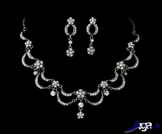 مدل های زیبای انواع سرویس طلا و جواهرات