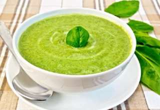 طرز تهیه سوپ اسفناج با شیوه های مختلف
