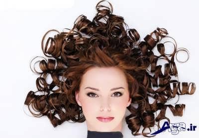 موی فر زیبا