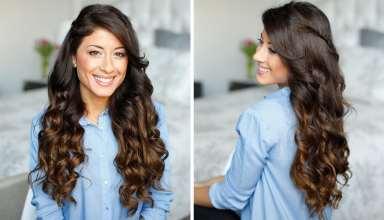 فر کردن مو با 5 روش مختلف