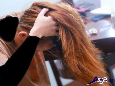 فر زدن روی موها با کمک روش های ساده و طبیعی