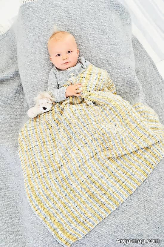 مدل پتوی دیدنی برای نوزادان