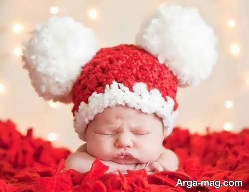 کلاه بافت نوزاد فانتزی