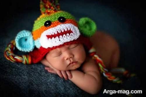 کلاه بافت نوزادی