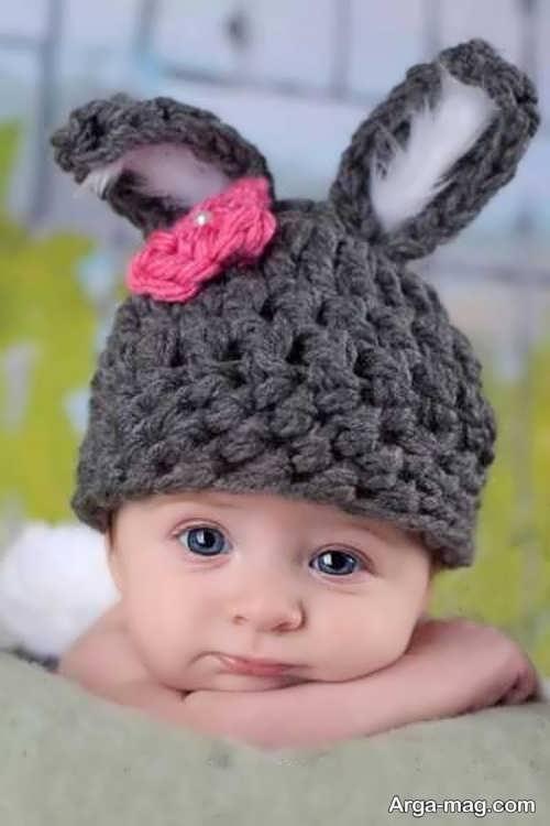 کلاه بافت نوزاد