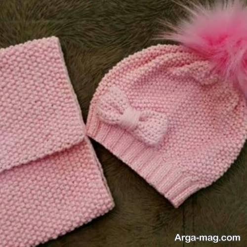 جدیدترین مدل کلاه بافت نوزاد