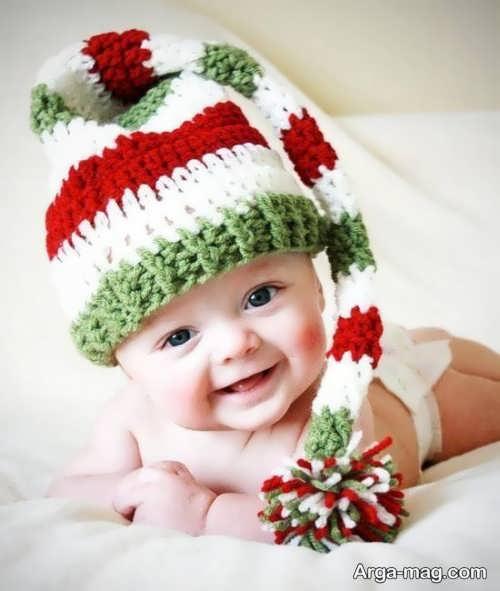 مدل کلاه بافت نوزاد