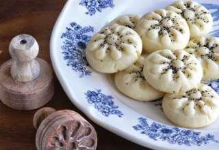 طرز تهیه نان برنجی کرمانشاهی
