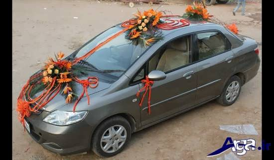 ماشین عروس زیبا و متفاوت