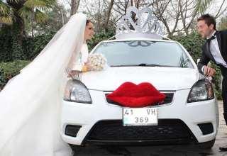 مدل ماشین عروس 2017 با تزیینات زیبا و متفاوت