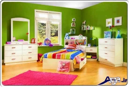انواع رنگ های مناسب برای نقاشی دیوار اتاق خواب کودکان و نوجوانان