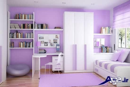 رنگ دیوار اتاق خواب کودک و نوجوان