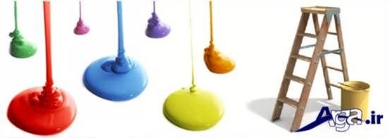 رنگ های ساختمانی مناسب برای قسمت های مختلف منزل