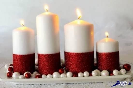 مدل تزیین شمع جدید