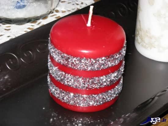 تزیین شمع های اکلیلی زیبا