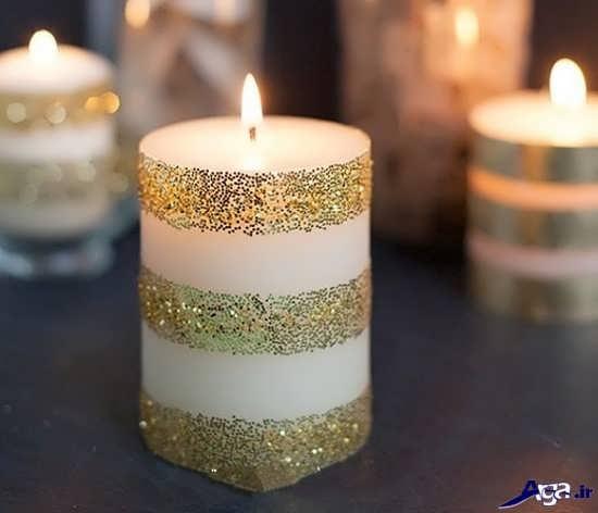 شمع آرایی زیبا و جدید