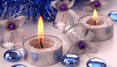 تزیین شمع با اکلیل