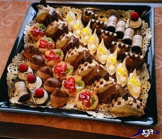 تزیین زیبای شیرینی خواستگاری