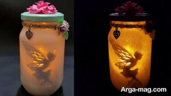 قشنگ ترین تزیین شمع با اکلیل