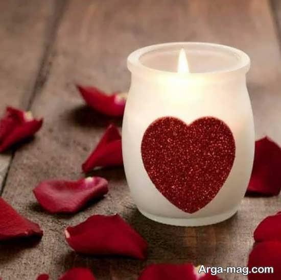 به روزترین تزیین شمع با اکلیل