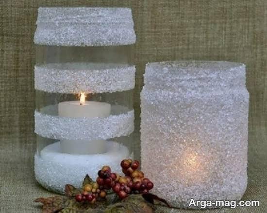 خاص ترین تزیین شمع با اکلیل