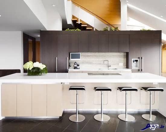 دیزاین اپن آشپزخانه
